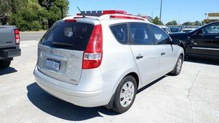 2011 Hyundai i30 FD MY11 SX cw Wagon Grey 4 Speed Automatic Wagon
