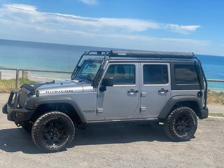 2013 Jeep Wrangler JK MY2014 Unlimited Rubicon Grey 6 Speed Manual Softtop