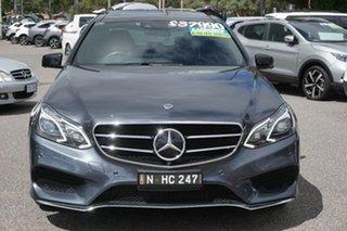 2015 Mercedes-Benz E-Class W212 806MY E250 7G-Tronic + Grey 7 Speed Sports Automatic Sedan.