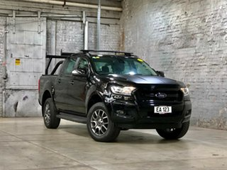 2017 Ford Ranger PX MkII FX4 Double Cab Black 6 Speed Sports Automatic Utility.