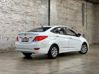 2017 Hyundai Accent RB4 MY17 Active White 6 Speed Constant Variable Sedan