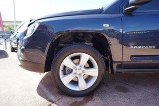 2013 Jeep Compass MK MY14 Sport (4x2) Black 6 Speed Automatic Wagon.