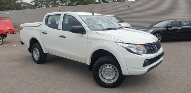 Used Mitsubishi Triton MQ MY18 GLX Double Cab Elizabeth, 2018 Mitsubishi Triton MQ MY18 GLX Double Cab White 6 Speed Manual Utility