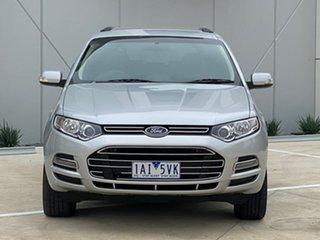 2013 Ford Territory SZ Titanium Seq Sport Shift Silver 6 Speed Sports Automatic Wagon.