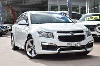 2015 Holden Cruze JH Series II MY15 SRi-V White 6 Speed Sports Automatic Sedan.