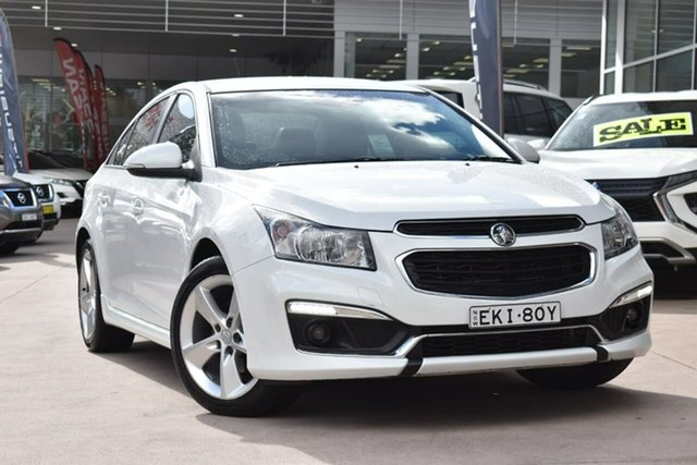 Used Holden Cruze JH Series II MY15 SRi-V Blacktown, 2015 Holden Cruze JH Series II MY15 SRi-V White 6 Speed Sports Automatic Sedan