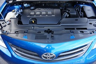 2013 Toyota Corolla ZRE152R Ascent Sport Tidal Blue 4 Speed Automatic Sedan