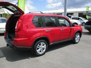 2011 Nissan X-Trail ST 2WD Red 5 Speed Manual Wagon.