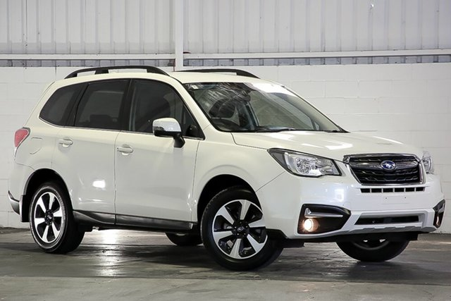 Used Subaru Forester S4 MY18 2.5i-L CVT AWD West Gosford, 2017 Subaru Forester S4 MY18 2.5i-L CVT AWD White 6 Speed Constant Variable Wagon