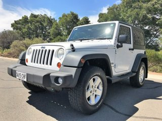 2012 Jeep Wrangler JK MY2012 Sport White 6 Speed Manual Softtop.