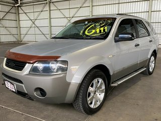 2006 Ford Territory SY SR AWD Silver 6 Speed Sports Automatic Wagon.
