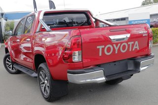 2016 Toyota Hilux GUN126R SR5 Double Cab Olympia Red 6 Speed Sports Automatic Utility.