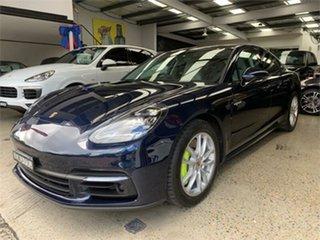2017 Porsche Panamera 971 4 E-Hybrid Blue Sports Automatic Dual Clutch Sedan