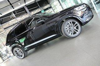 2018 Audi Q7 4M MY18 TDI Tiptronic Quattro Black 8 Speed Sports Automatic Wagon.