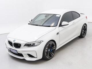 2017 BMW M2 F87 MY18 White 7 Speed Auto Dual Clutch Coupe