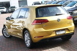 2017 Volkswagen Golf 7.5 MY18 110TSI DSG Trendline Yellow 7 Speed Sports Automatic Dual Clutch.