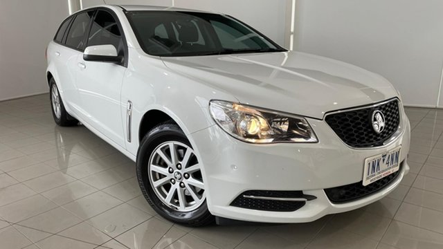 Used Holden Commodore VF II MY16 Evoke Sportwagon Deer Park, 2016 Holden Commodore VF II MY16 Evoke Sportwagon White 6 Speed Sports Automatic Wagon