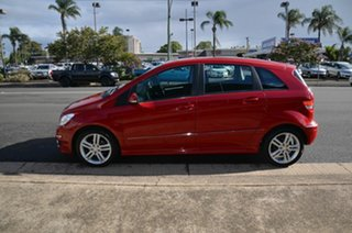 2010 Mercedes-Benz B180 245 MY10 Maroon 7 Speed CVT Auto Sequential Hatchback