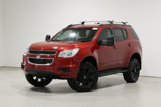 2016 Holden Colorado 7 RG MY16 LT (4x4) Red 6 Speed Automatic Wagon.
