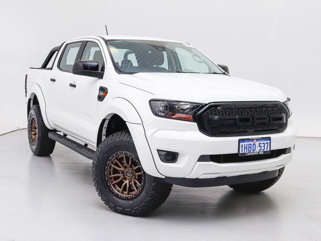 Used Ford Ranger PX MkIII MY20.75 XL 3.2 (4x4), 2020 Ford Ranger PX MkIII MY20.75 XL 3.2 (4x4) White 6 Speed Automatic Double Cab Pick Up