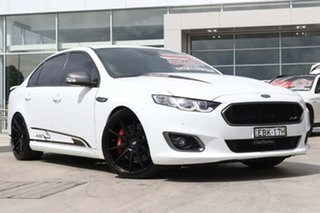 2015 Ford Falcon FG X XR8 Winter White 6 Speed Sports Automatic Sedan.