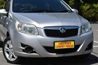 2008 Holden Barina TK MY09 Silver 4 Speed Automatic Hatchback