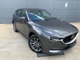2020 Mazda CX-5 KF4WLA Akera SKYACTIV-Drive i-ACTIV AWD Machine Grey 6 Speed Sports Automatic Wagon.