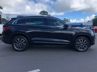 2019 Skoda Kodiaq NS MY20 132TSI DSG Black 7 Speed Sports Automatic Dual Clutch Wagon.