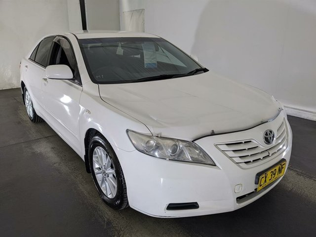 Used Toyota Camry ACV40R Altise Maryville, 2007 Toyota Camry ACV40R Altise White 5 Speed Automatic Sedan