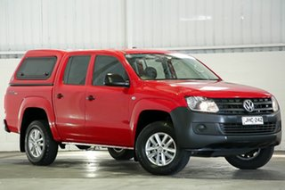2016 Volkswagen Amarok 2H MY16 TDI420 4MOTION Perm Core Red 8 Speed Automatic Utility.