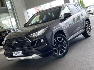 2019 Toyota RAV4 Axaa54R Edge AWD Graphite 8 Speed Sports Automatic Wagon.