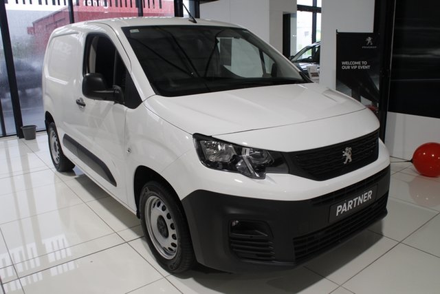 New Peugeot Partner K9 MY20 130 Low Roof SWB THP Gateshead, 2020 Peugeot Partner K9 MY20 130 Low Roof SWB THP White 8 Speed Sports Automatic Van