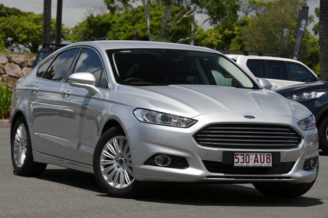 Used Ford Mondeo MD Trend North Lakes, 2016 Ford Mondeo MD Trend Moondust Silver 6 Speed Sports Automatic Hatchback