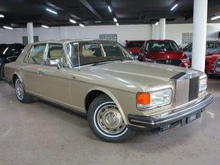 1982 Rolls-Royce Silver Spirit Gold 3 Speed Automatic Sedan.