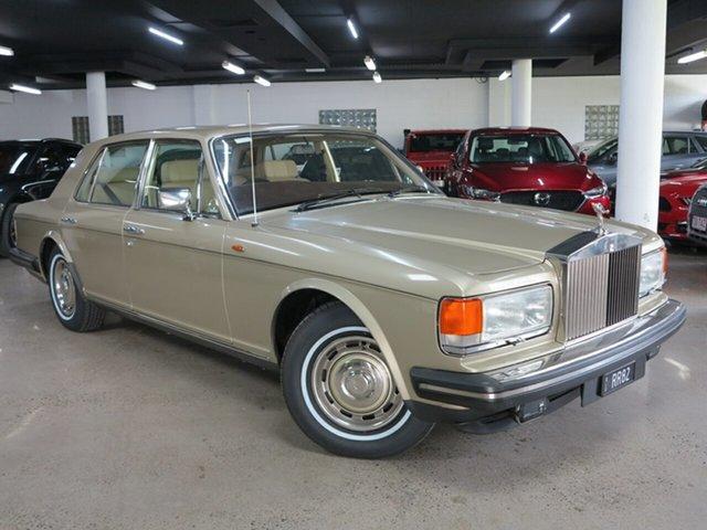 Used Rolls-Royce Silver Spirit Albion, 1982 Rolls-Royce Silver Spirit Gold 3 Speed Automatic Sedan