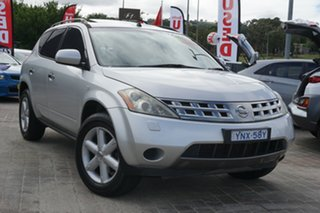 2007 Nissan Murano Z50 TI Silver 6 Speed Constant Variable Wagon.