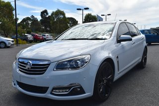 2013 Holden Calais VF MY14 V White 6 Speed Sports Automatic Sedan.