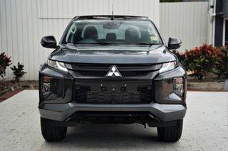 2020 Mitsubishi Triton MR MY21 GSR Double Cab Graphite Grey 6 Speed Sports Automatic Utility.