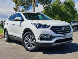 2016 Hyundai Santa Fe DM3 MY16 Elite White 6 Speed Sports Automatic Wagon