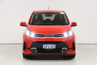 2020 Kia Picanto JA MY20 GT-Line Red 4 Speed Automatic Hatchback.