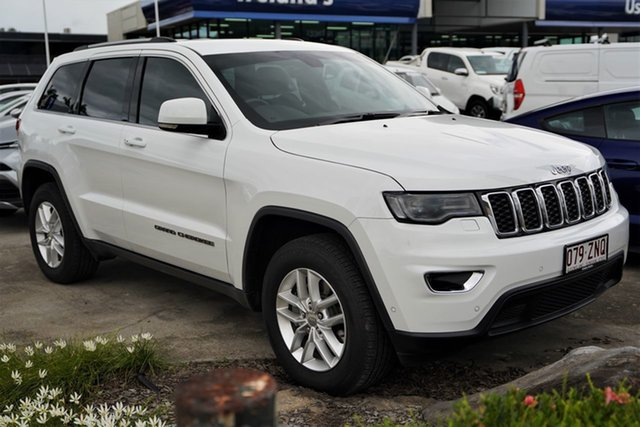 Used Jeep Grand Cherokee WK MY17 Laredo Cairns, 2016 Jeep Grand Cherokee WK MY17 Laredo White 8 Speed Sports Automatic Wagon