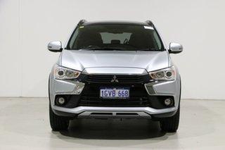 2017 Mitsubishi ASX XC MY17 XLS (2WD) Silver Continuous Variable Wagon.