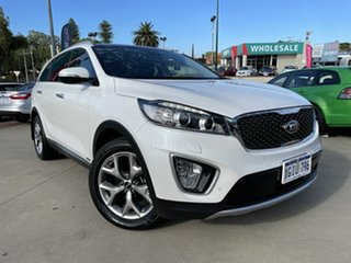 2017 Kia Sorento UM MY17 Platinum (4x4) White 6 Speed Automatic Wagon.