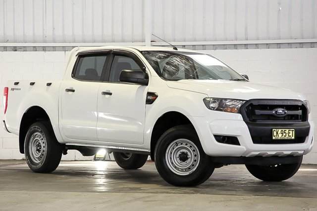 Used Ford Ranger PX MkII XL Hi-Rider West Gosford, 2016 Ford Ranger PX MkII XL Hi-Rider White 6 Speed Sports Automatic Cab Chassis