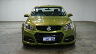2015 Holden Ute VF MY15 SV6 Ute Lightning Green 6 Speed Manual Utility