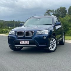 2011 BMW X3 F25 xDrive30d Steptronic Blue 8 Speed Automatic Wagon.