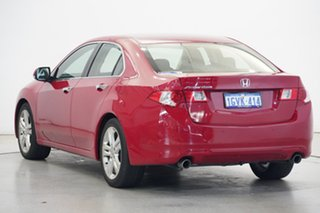 2009 Honda Accord Euro CU MY10 Luxury Navi Milano Red 5 Speed Automatic Sedan