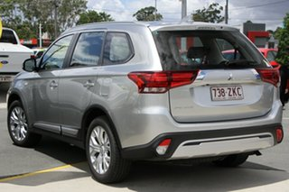2019 Mitsubishi Outlander ZL MY20 ES 2WD Silver 6 Speed Constant Variable Wagon.