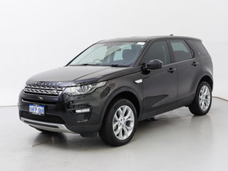 2017 Land Rover Discovery Sport LC MY17 TD4 180 HSE 5 Seat Santorini Black 9 Speed Automatic Wagon.