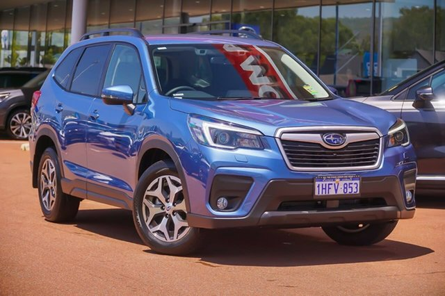 Demo Subaru Forester S5 2.5I-L Gosnells, 2021 Subaru Forester S5 2.5I-L Blue Constant Variable SUV